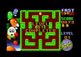 Fast Food Amstrad CPC Level 01 completed