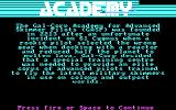 Space School Simulator: The Academy DOS Story