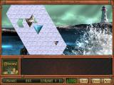 Adventure Inlay Windows Reveal mode hides a picture underneath these triangular blocks