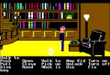 Maniac Mansion Apple II Exploring the library