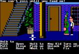 Maniac Mansion Apple II Uh oh, it's Green Tentacle!