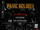 Panic Soldier DOS Main menu