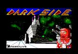 Dark Side Amstrad CPC Title screen