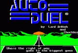 Autoduel Apple II Title Screen