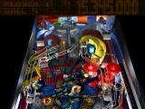 True Pinball PlayStation Law & Justice 3D mode - Top