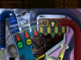 True Pinball PlayStation Extreme Sports 2D mode - Top