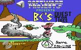 BC's Quest for Tires Commodore 64 Loading screen