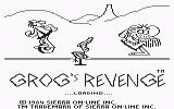 B.C. II: Grog's Revenge Commodore 64 Loading screen