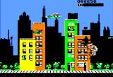 Rampage Apple II Smashing buildings