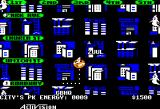 Ghostbusters Apple II The map of the city