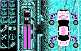 Days of Thunder DOS The Pit Stop (CGA)