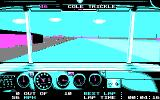 Days of Thunder DOS Driving (CGA)