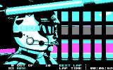 Days of Thunder DOS Driver's View (CGA)