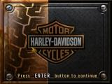 Harley-Davidson: Race to the Rally Windows Title screen