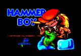 Hammer Boy Amstrad CPC Title screen