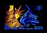 Meganova Amstrad CPC Loading screen