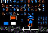 Stuart Smith's Adventure Construction Set Apple II Graphic editor - Characters in the Mystery Set