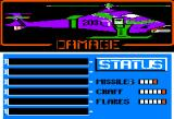 Infiltrator Apple II Damage and general status