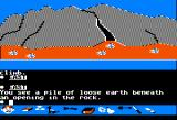 Swiss Family Robinson Apple II Outside of a cave.
