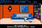 Tass Times in Tonetown Apple II Title screen.