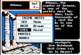 Where in Europe is Carmen Sandiego? Apple II Crime notepad. Write down info on the suspect.