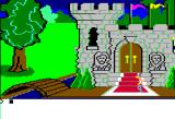 King's Quest Apple II The king's castle.