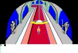 King's Quest Apple II Castle hallway.