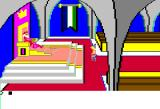 King's Quest Apple II Throne room.