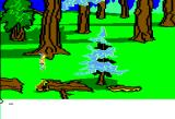 King's Quest II: Romancing the Throne Apple II More forest.