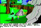 King's Quest II: Romancing the Throne Apple II Chasm nearby.