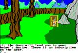King's Quest II: Romancing the Throne Apple II A strange door...