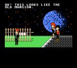 Maniac Mansion NES Starting the game