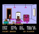 Maniac Mansion NES Lots of things to collect here