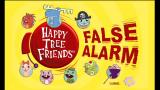 Happy Tree Friends: False Alarm Xbox 360 Title screen.