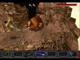 Time Commando PlayStation Fighting the cave bear.
