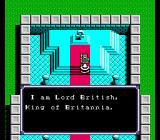 Ultima IV: Quest of the Avatar NES Lord British appears