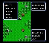 Ultima IV: Quest of the Avatar NES Battle