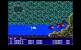 Mid-Garts PC-98 Attacked by bats when sinking into water