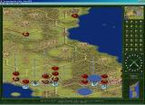 The Operational Art of War: Century of Warfare Windows Korean scenario in large 3-D map mode