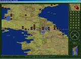 The Operational Art of War: Century of Warfare Windows Korean scenario in small 3-D map mode