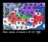 Romance of the Three Kingdoms II SNES Overview map