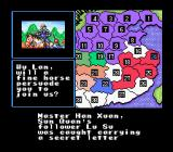 Romance of the Three Kingdoms II SNES You receive news from your people