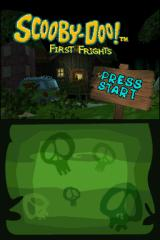 Scooby-Doo!: First Frights Nintendo DS Title screen.