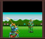 Romance of the Three Kingdoms II SNES One-on-one battle