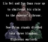 Romance of the Three Kingdoms III: Dragon of Destiny SNES Intro