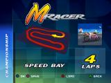 Moto Racer PlayStation Speed Bay track