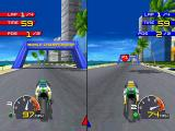 Moto Racer PlayStation Two-players split screen