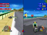 Moto Racer PlayStation Accident