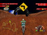 Moto Racer PlayStation Curve ahead