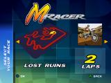 Moto Racer PlayStation Lost Ruins track